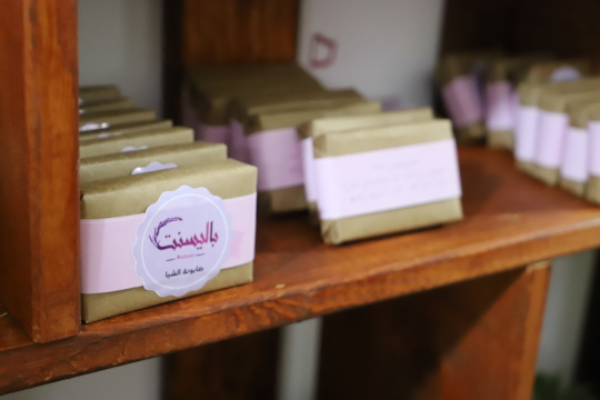 Lovely soaps made by the talented Maha.