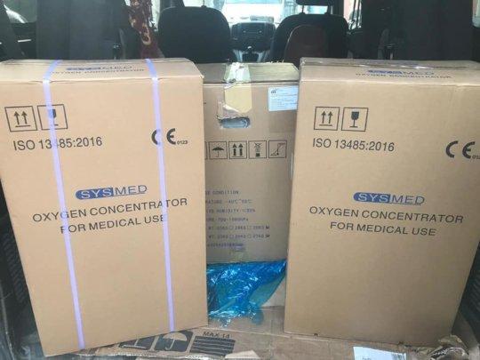 Karama providing Oxygen Concentrators for patients