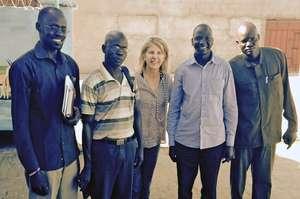 The Raising South Sudan team in Juba South Sudan
