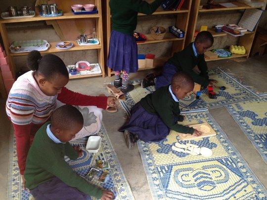 Montessori Learning at Work!