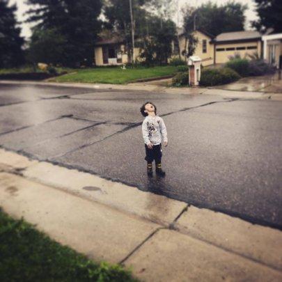 First Rainstorm