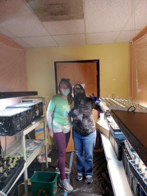 Seeding room April 21