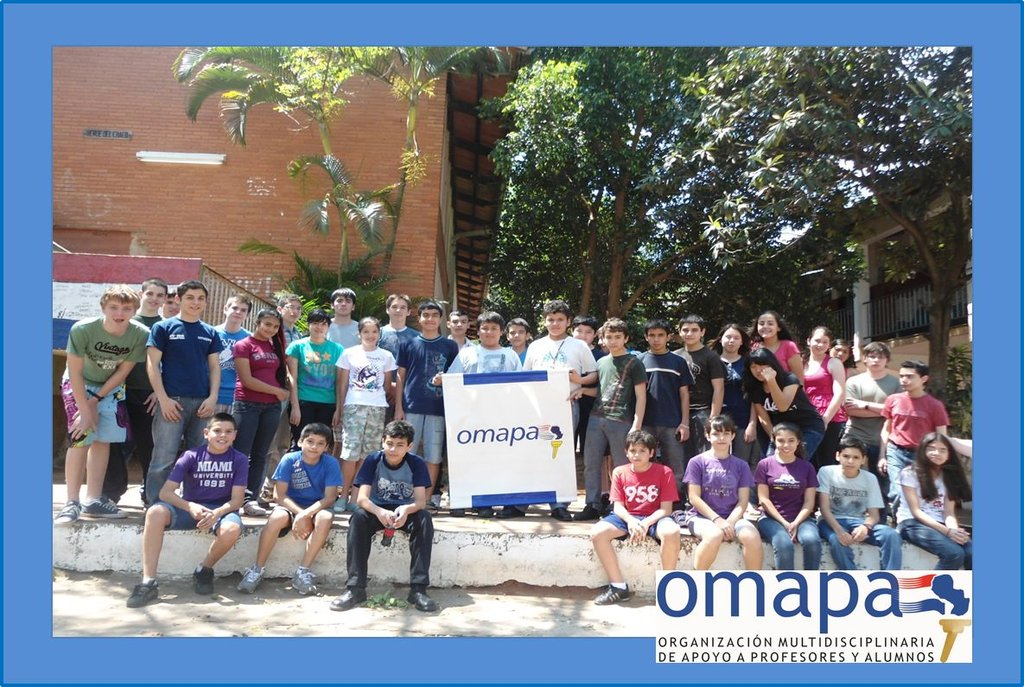 Scientific initiation for 120 students in Paraguay