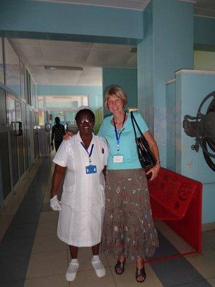 Nurse Joyce & Dr. Jan Kohler