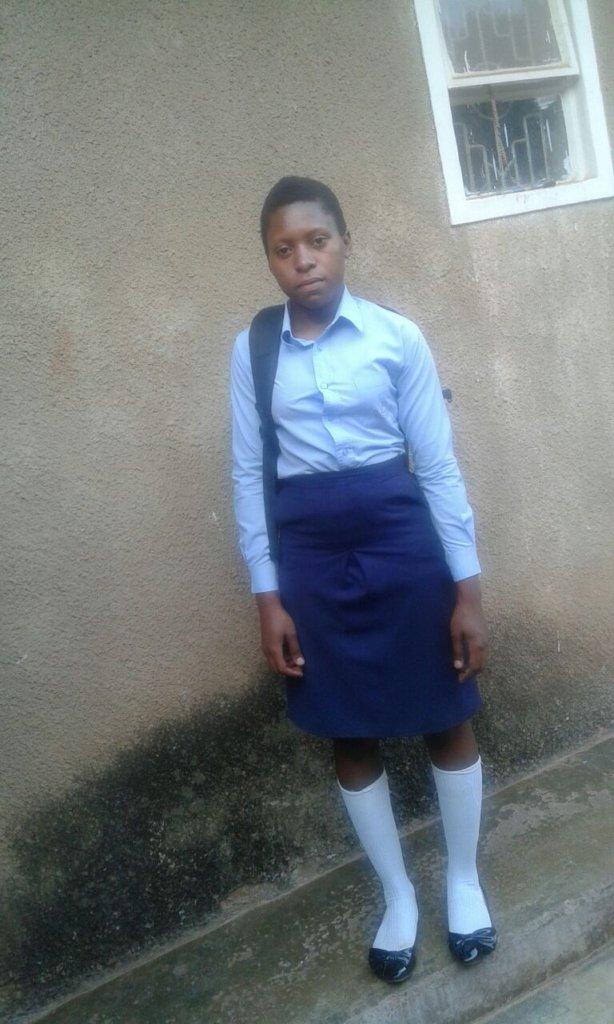 Brenda at school