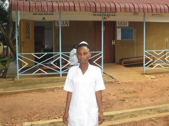 Eva: The newest midwife at Kisubi Hospital