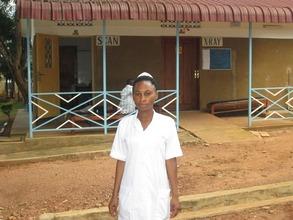 Eva: The newest midwife at Kisubi Hospital