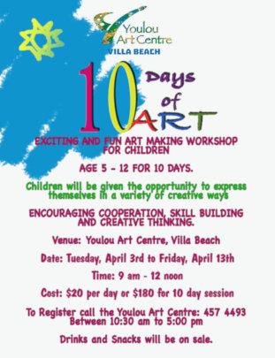 Poster Advertising 10 Days of Art
