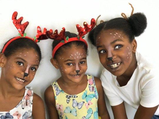 """Children from the """"Hello Art"""" Program"""