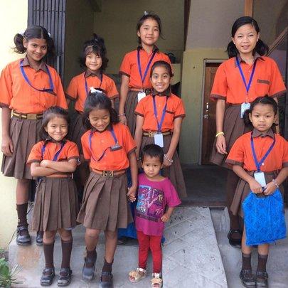 Children ready to school.