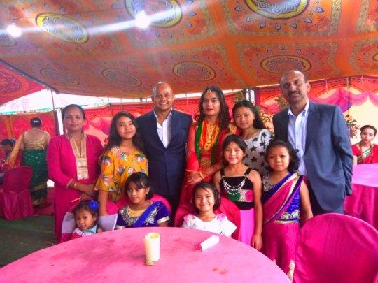 Participation on Wedding-Party at Baniyatar.
