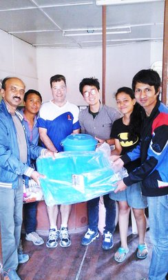 Donations from Children-Homes-Federation-Nepal.