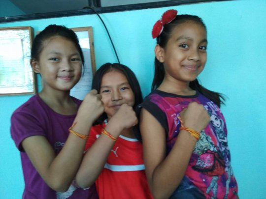 Children celebrated RAKSHYA BANDHAN festival.
