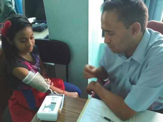 SARASWATI on Medical consultation with Dr.Devkota