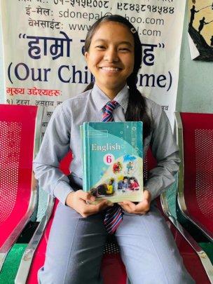 Shrijana, class-6 received 73.33% on Annual-Exam