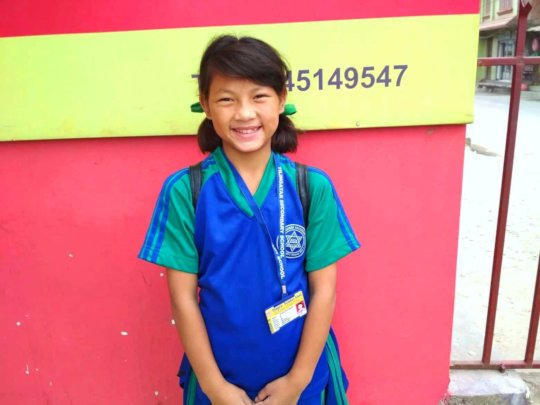 Pemba, is happy being as class & house captain.
