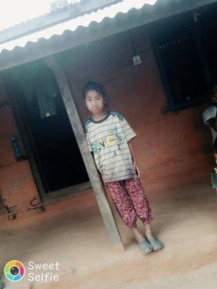Roshani looking for ray of hope on her home .