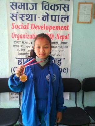 DOLMA, class-5 awarded with MEDAL on English-Essay