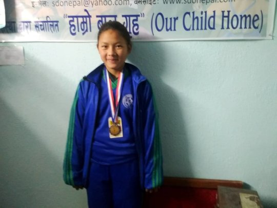 PEMBA,class-4 is awarded with MEDAL on DANCE.