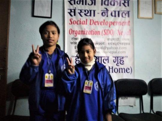 Pratikshya and Roshani class-3 received 94.25%