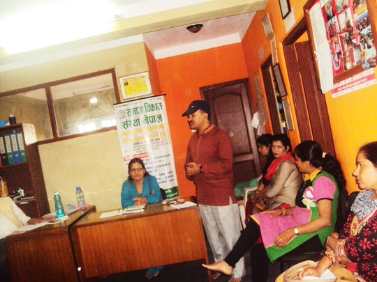 A glimpse of Annual-General-Meeting of SDO-Nepal
