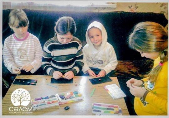 Some of the Medvedko children