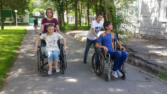 Could you get around Shymkent in a wheelchair?