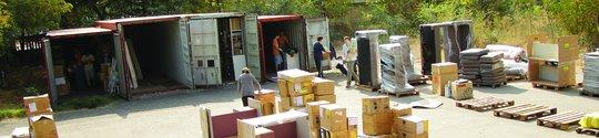 Preparing shipments for various organisations
