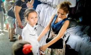 Assistance enabled new clothes for school