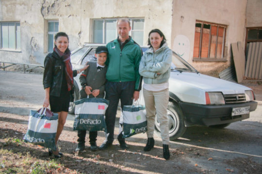 Another family receiving some much needed help