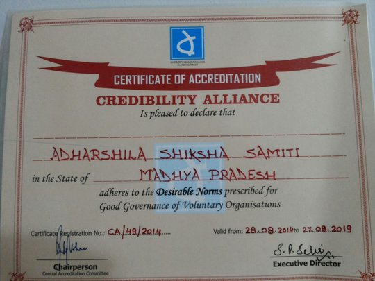 Adharshila gets CA certification
