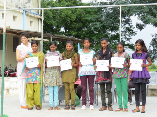 Sports prize distribution on Independence Day
