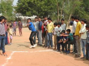 Sunil the shot-putting champion