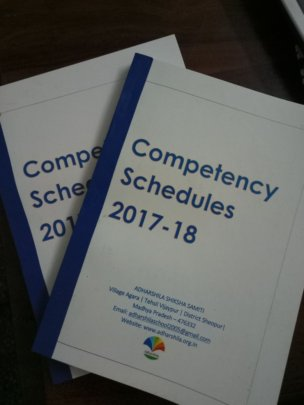 Copies of the Competency Schedule