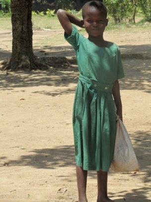 Student at Kuoyo Primary School