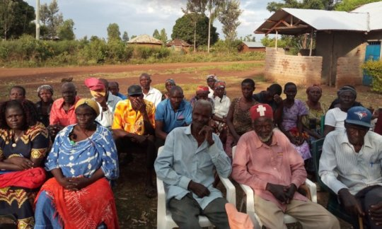 Uradi Guardians learn how to support the project
