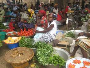 Women at Market in the Upper West Region