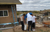 Training Lakota Youth in Sustainable Home Building