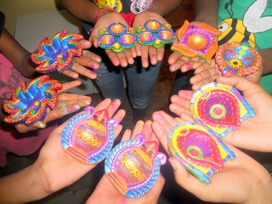 Diyaas painted with the hues of happiness