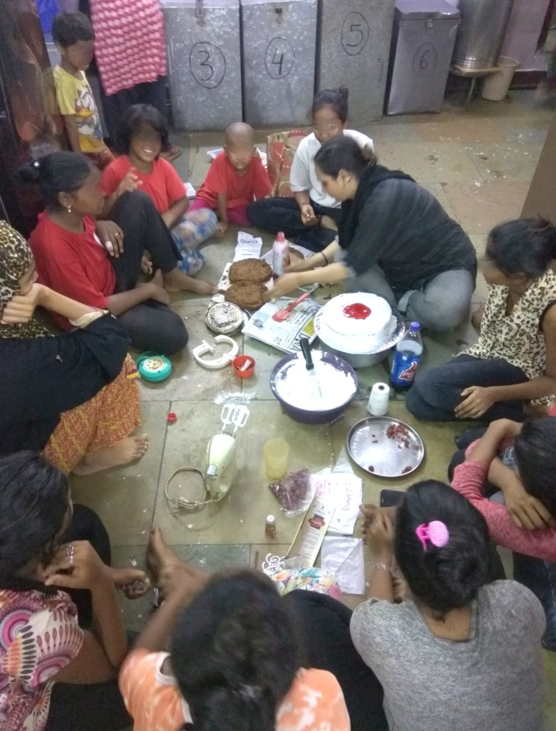 beneficiaries learning easy baking