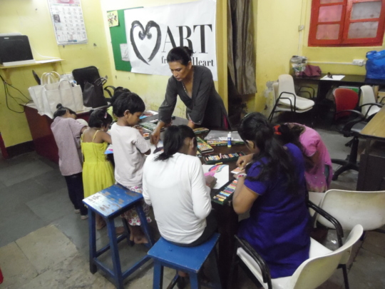 Weekly Art Therapy Classes