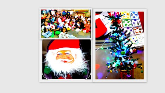 Christmas with Secret Santa & the Beautiful Tree!
