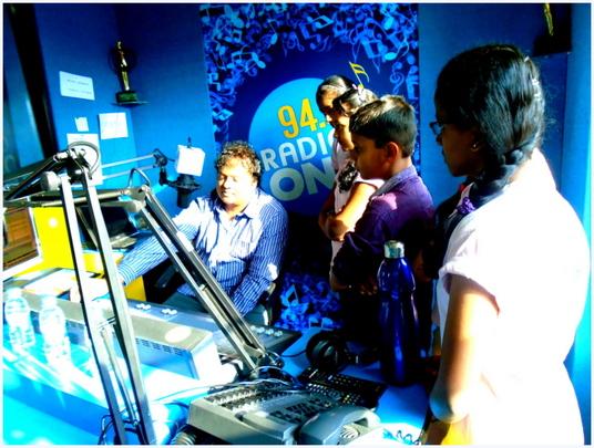 Fun Excursion to the radio station!