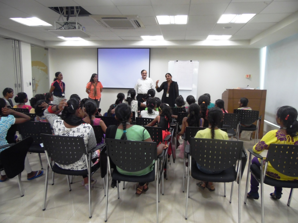 Career Guidance Session at PwC office