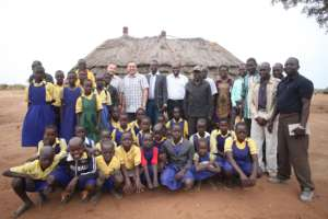 RtL staff visiting community school in Nimule