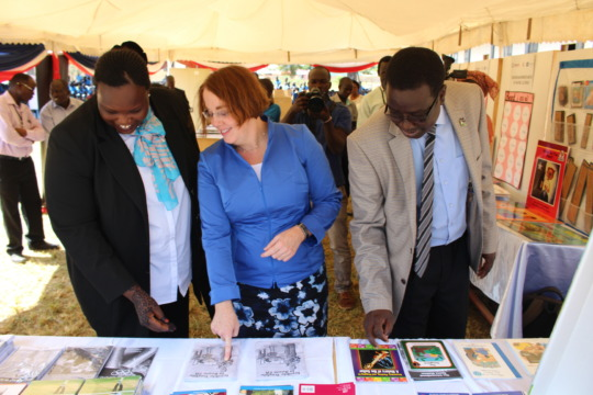 US Ambassador Molly Phee looks at RTL IMP grants
