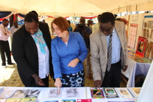 US Ambassador Molly Phee looks at RTL IMP grants
