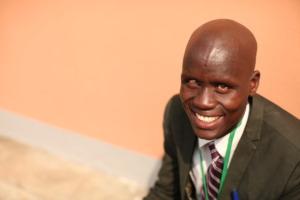 Makpwe is a school officer in Nimule County