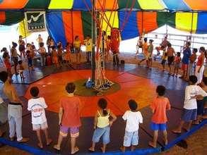 Juriti Project kids playing