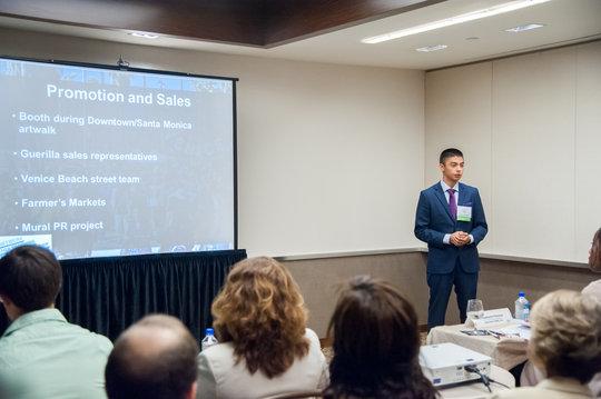 Jose G. presenting at the NYEC